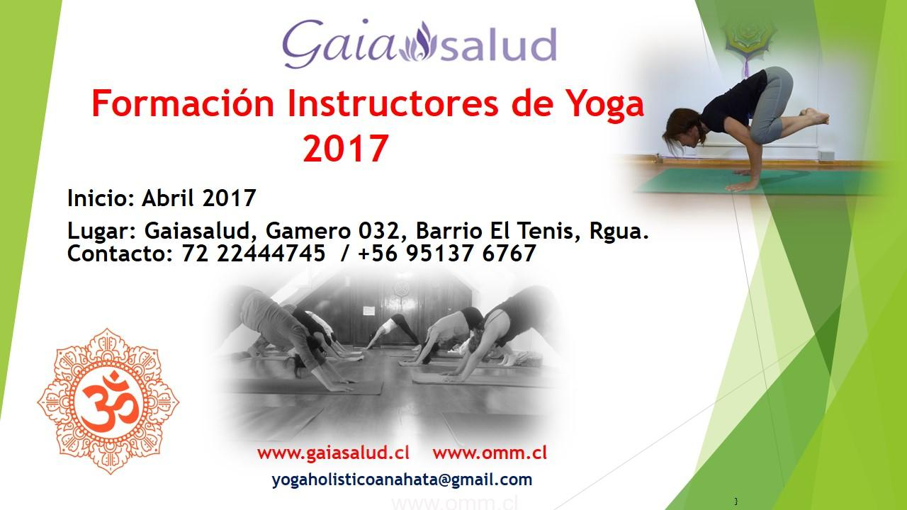 Formación Instructores de Yoga en Rancagua